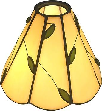 NoBeiYi Tiffany Style sostituisce il paralume del lampadario e della lampada da parete, E NTA047 U, diametro 6,5 cm, vetro tridimensionale, accessori
