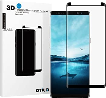 Otium 1SP30B Tempered Glass Screen Protector for Galaxy Note 8