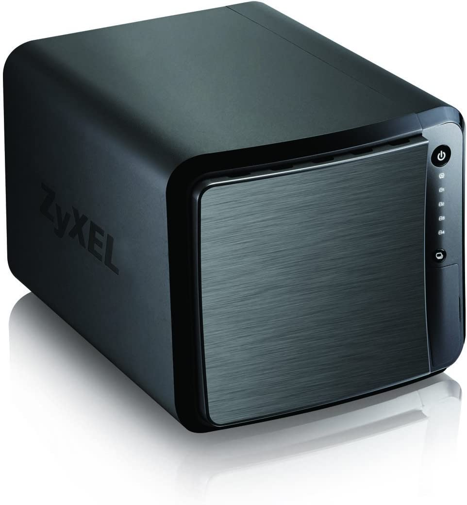 ZyXEL Personal Cloud Storage Server [4-Bay] with Remote Access and Media Streaming [NAS540]