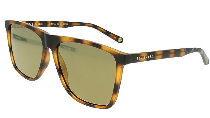 Ted Baker London - Gafas de sol - para mujer Marrón Tortuga ...