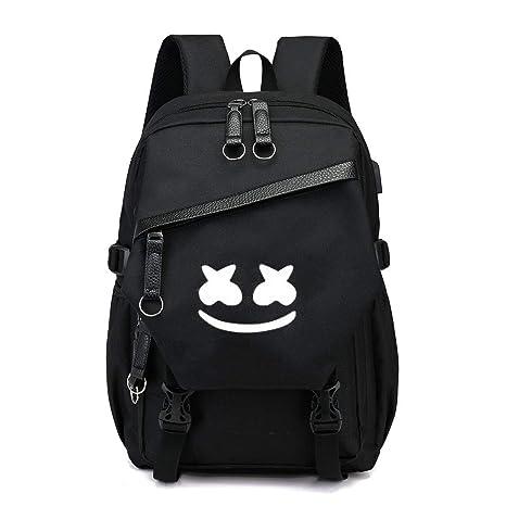 nuovo prodotto c3f3c 6e5b3 Zaino Marshmallow moda con porta USB di ricarica, zaino ...