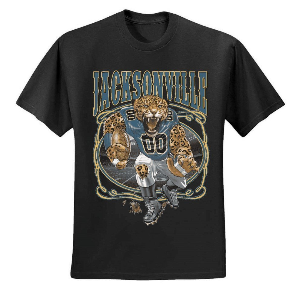 Jacksonville Fan Jax Fantasy Football S Sports Graphic Tshirt
