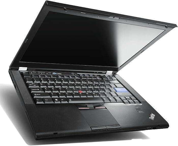 Lenovo ThinkPad T420 Laptop WEBCAM - i5 2.50ghz - 8GB DDR3 - 128GB - DVDRW - Windows 10 Home 64bit - (Renewed), Black