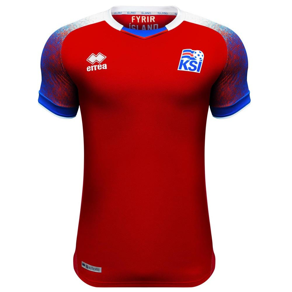 Errea 2018-2019 Iceland Third Football Soccer T-Shirt Trikot (Kids)