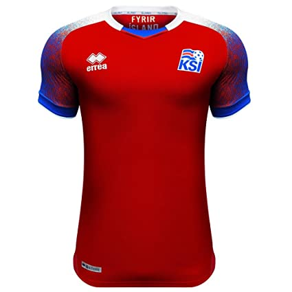 020ba4625 Amazon.com   Errea 2018-2019 Iceland Third Football Soccer T-Shirt Jersey    Sports   Outdoors