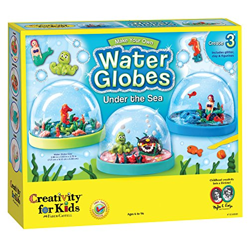 Creativity for Kids Make Your Own Water Globes - Under the Sea Snow Globes (Water Craft Globe)