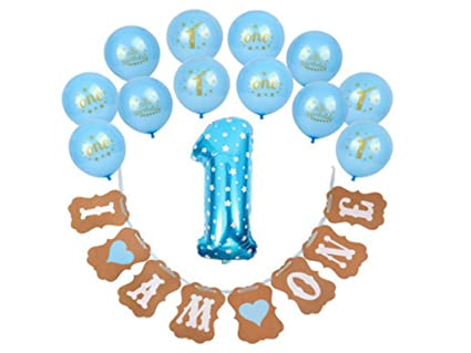 Amazon Birthday Decorations For Boys 1st