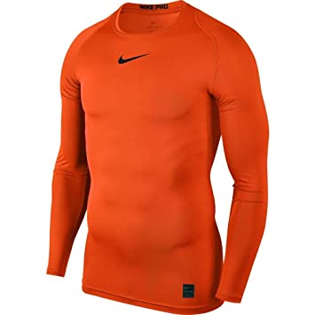 huge selection of cf775 d2e94 Nike 838077 T- T-Shirt Homme, Orange, FR (Taille Fabricant