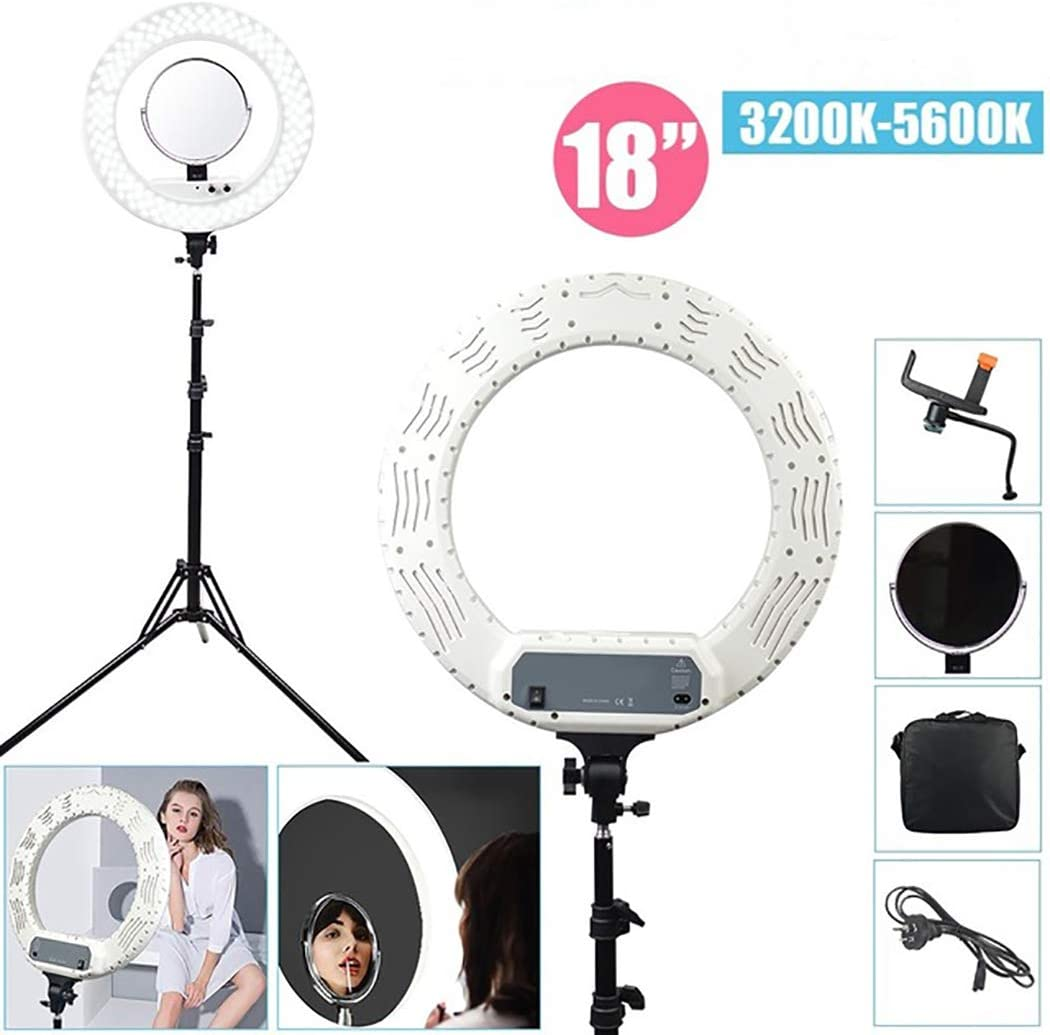 Video Fill light LED Ring Light with Ring Bracket LED self-Timer Ring Light self-Timer Photography dimmable Desktop Makeup Ring Light for Photography Makeup self Media