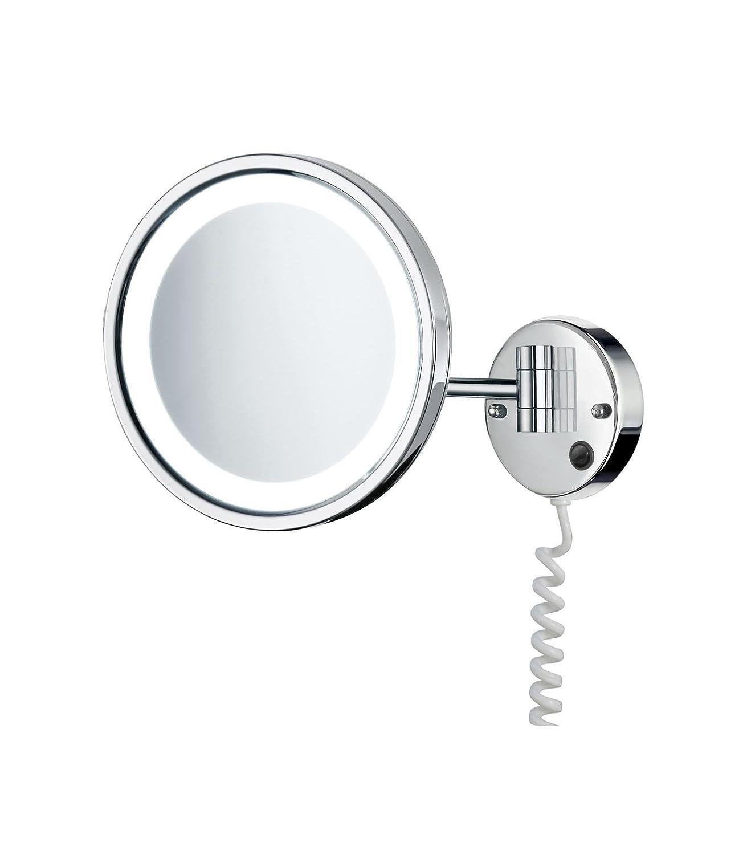 SMEDBO OUTLINE glänzend Kosmetik-Spiegel Gelenkarm Gelenkarm Gelenkarm beleuchtet 5-fach LED FK470E fd6870