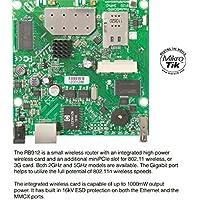 MikroTik - RB912UAG-5HPND - Atheros AR9342, 802.11a/n, 600Mhz CPU, 64MB RAM, mPCIe, 1GLan, OS L4