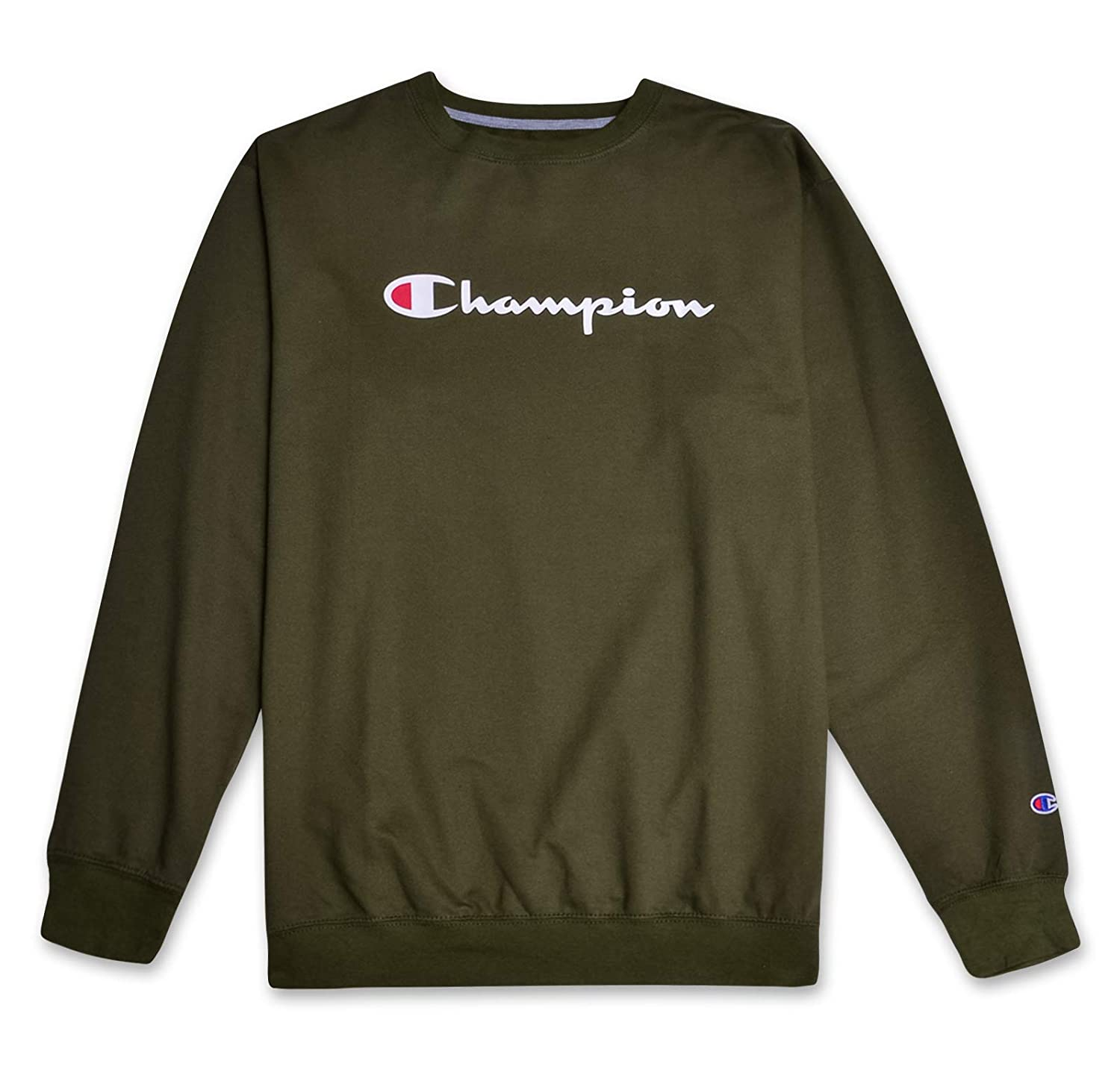 bffe83e6 Amazon.com: Champion Mens Big and Tall Crewneck Logo Pullover Sweatshirt:  Clothing