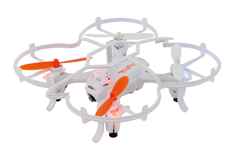 xciterc 15006050–Rocket 1253D RTF cuadricóptero de 4Canales con 0.5MP cámara, Color Blanco