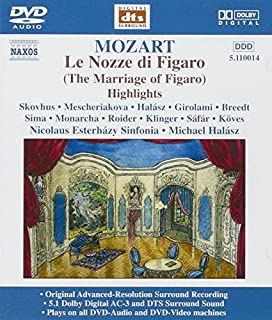 Le Nozze Di Figaro (DVD Audio) by MOZART (B0001ZA3BU) | Amazon Products