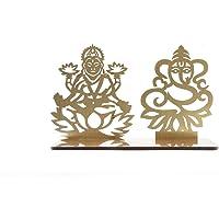 Lakshmi Ganesh Diwali Shadow Diya Tea Light Holder for Home/Office.TeaLight Tlight Candle Holder Stand. Diwali…