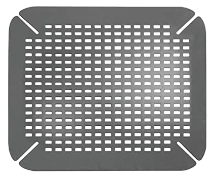 Outstanding Idesign Kitchen Sink Mat Large Sink Protector Mat Made Out Of Durable Plastic Practical Drainer Mat For Kitchen Sink Grey Interior Design Ideas Skatsoteloinfo