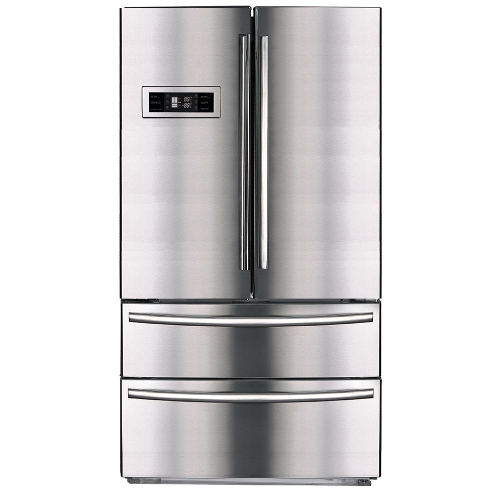 #4 rated in reliable: SMETA Upright Counter Depth French Door Refrigerator, scored 94/100