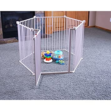 Regalo – 4-in-1 Extra Large Metal Playard