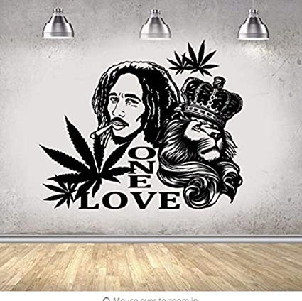 Adesivi Murali Bob Marley.Adesivi Murali In Vinile Stickers Murali In Vinile Bob Marley
