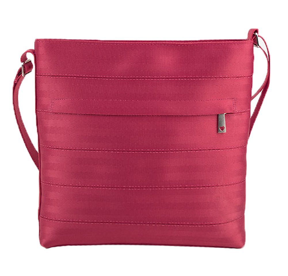 Harveys Women's Streamline Seatbelt Crossbody Purse Bag (Razzleberry)