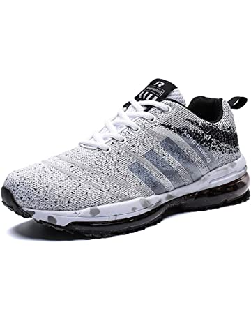 new arrive d7b2b 983f1 Women Men Casual Sports Running Shoes Air Trainers Jogging Fitness Shock  Absorbing Gym Athletic Sneakers