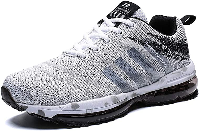 mesh Running Shoes Ultralight Sport Shoes Jogging Athletic Sneakers Blue 13 M US