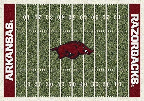 Arkansas Razorbacks NCAA Area Rug - Home Field 5'4