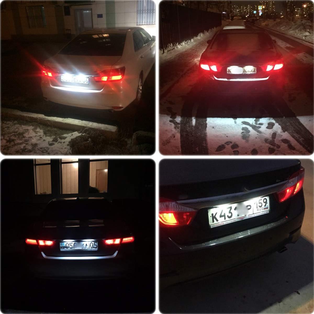 GOFORJUMP bianco auto LED numero targa luce kit per l//Exus LX470/GX470/T//Oyota Land Cruiser 120/Prado Land Cruiser 200
