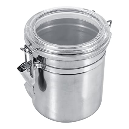 Amazon.com: Stainless Steel Kitchen Food Storage Container ...