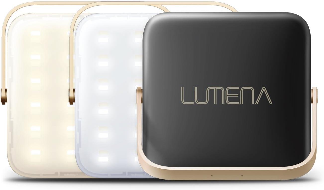 NNINE LUMENA(ルーメナー)7 LEDランタン ブラック