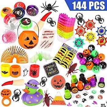 Amazon.com: Halloween juguetes más de 122 piezas para ...