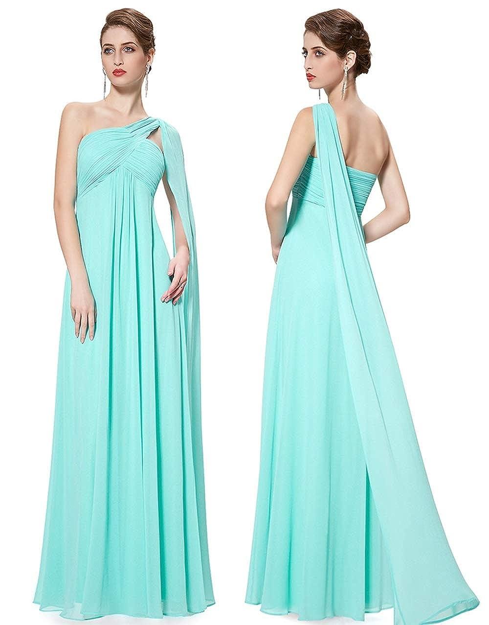 Mint vert 6XL NJU Belle Mousseline de Soie fraîche Jupe Longue Demoiselle d'honneur Soeur Jupe Robe de soirée de Grande Taille