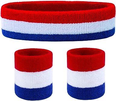 Sports Wrist /& Head Sweat Bands Wristbands Headbands Sweatbands Fitness X1R4
