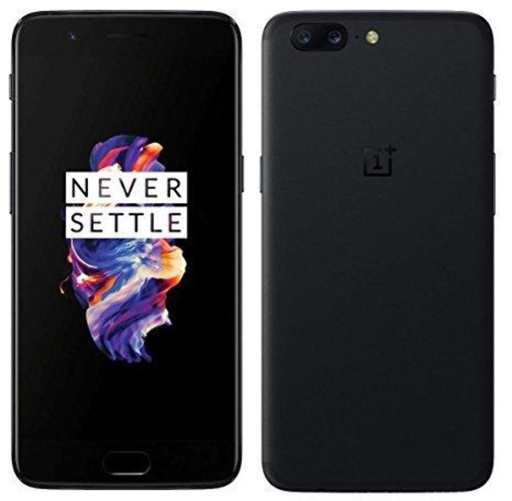 Oneplus 5 8GB RAM+ 128GB ROM Dual SIM 4G FDD-LTE 5.5 inch Smartphone Snapdragon 835 Negro