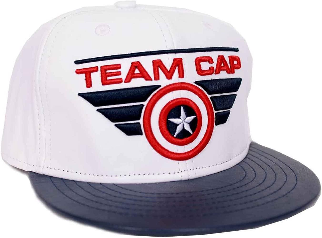 Gorra de béisbol del Capitán América, con Logotipo Oficial de ...