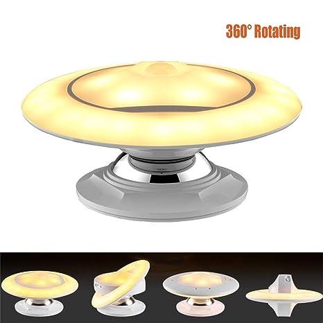 Lámpara Nocturna LED,360 ° Sensor de Movimiento Luz de Noche ...
