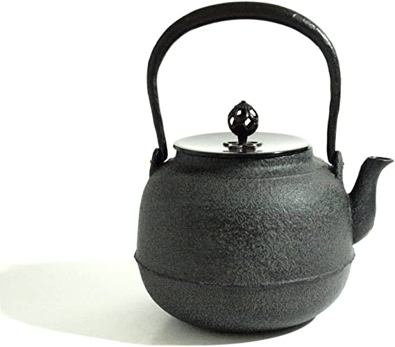 茶道具 鉄瓶 真形8号 1.4L 菊池政光作