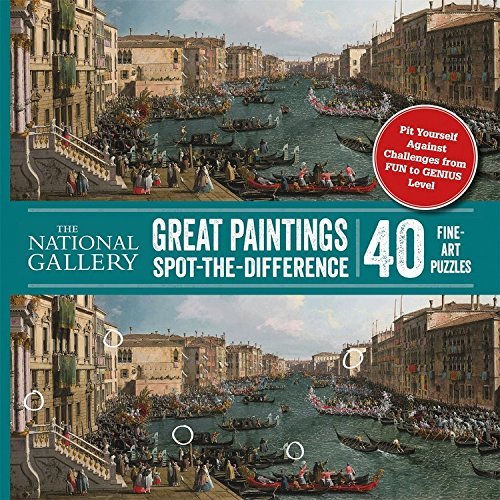 Spot-the-Difference: National Gallery Spot-The-Difference: Great Paintings