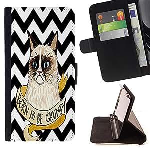 Dragon Case - FOR Apple Iphone 4 / 4S - No one wants pain - Caja de la carpeta del caso en folio de cuero del tir¨®n de la cubierta protectora Shell