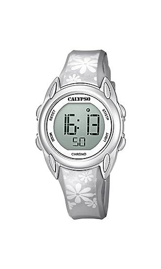 Calypso Reloj Digital para Mujer de Cuarzo con Correa en Plástico K5735/1: Amazon.es: Relojes