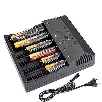 TrustFire TR-012 - Cargador de batería Universal (6 ...