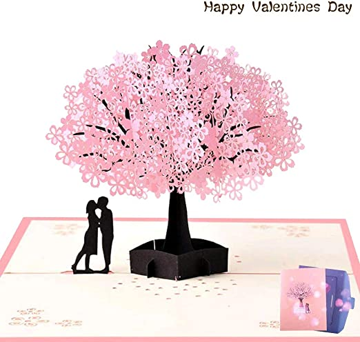NACTECH Pop-up Tarjeta Amor 3d Tarjeta de Felicitacion Cumpleaños ...