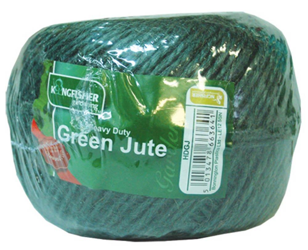 Kingfisher Green Jute Twine Homespare HDGJ