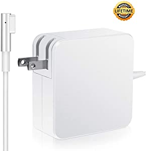 MacBook Charger, 60W Power Adapter, L-Type Connector Charger for Mac Book and 13-inch Mac Book Pro (Before Mid 2012 Models)