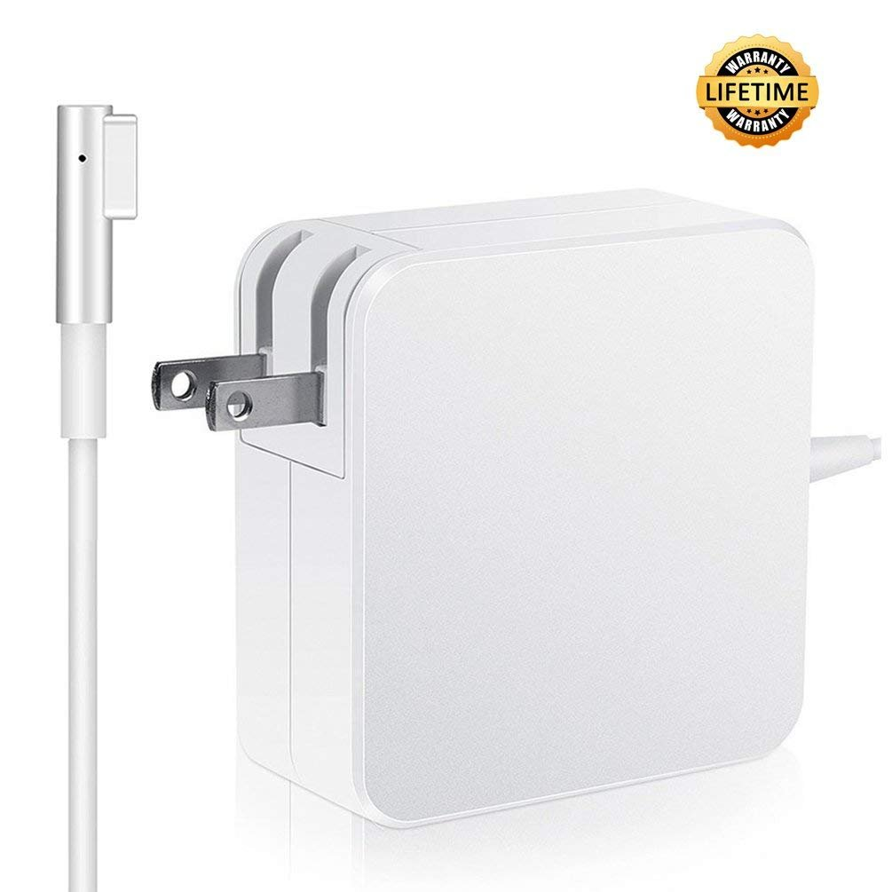 Macbook Pro Charger, Replacement 60WL-Tip Magsafe Power Adapter for Macbook Pro Charger 13-inch (Before Mid 2012 Models)