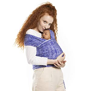 Boba Baby Wrap Carrier - Original Child and Newborn Sling (Boho)