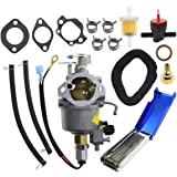 Filtro de Aire Kit de Ajuste para Motor Honda GX340 GX 390 5 HP Ejoyous Carburador de 9 Piezas arrancador de tracci/ón Bobina de Encendido