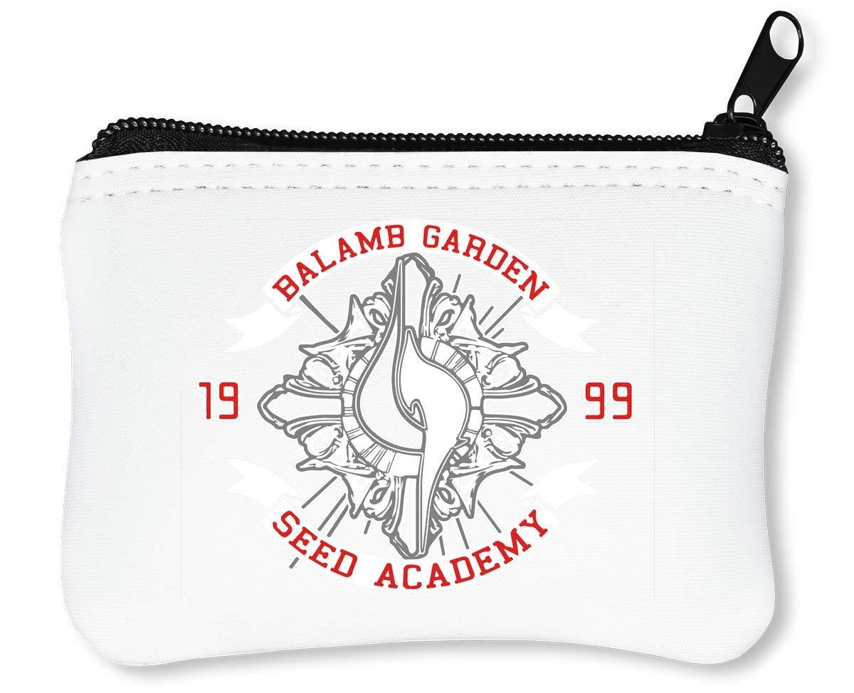 Balamb Garden Seed Academy Billetera con Cremallera Monedero ...