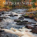 Michigan Nature 2019 12 x 12 Inch Monthly Square Wall Calendar, USA United States of America Midwest State Wilderness (Multilingual Edition)