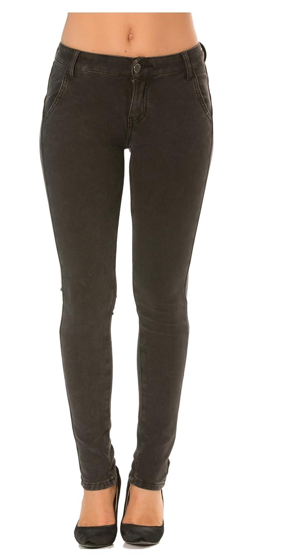 Nina Carter Damen slim skinny Jeans stretch jeanhose 34 bis 42